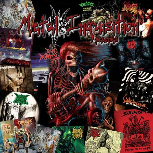 Metal Inquisition Compilation CD